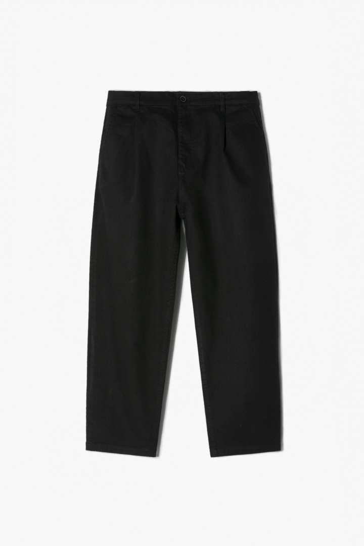 Natural Wide Pants - Black