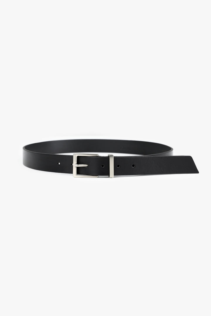Metallic Italy Leather Belt