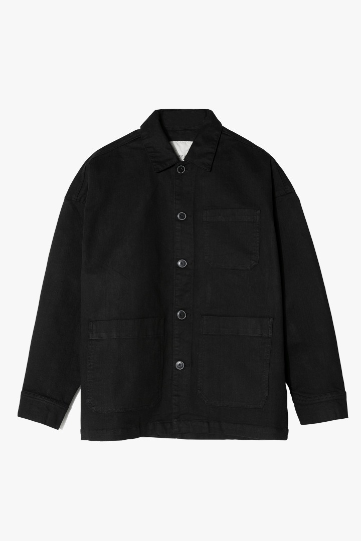 Natural Pocket Jacket - Black