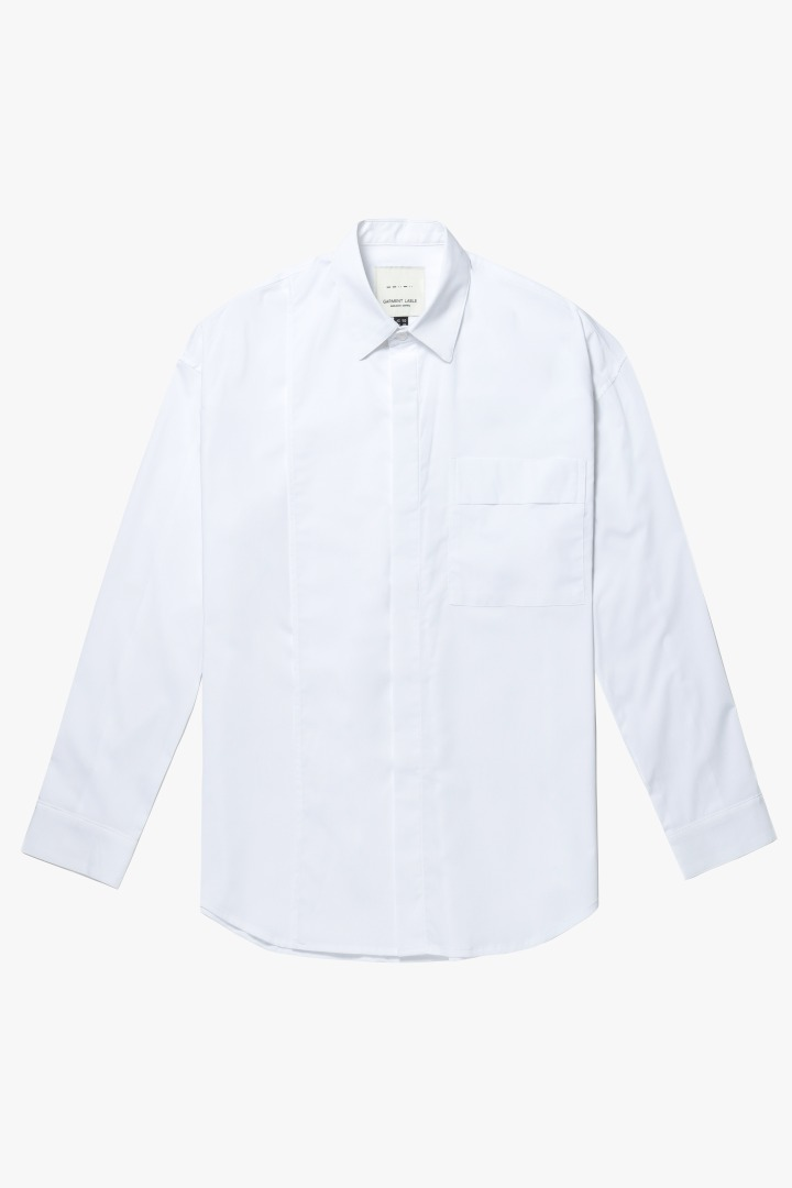 Addition Over Shirt - White