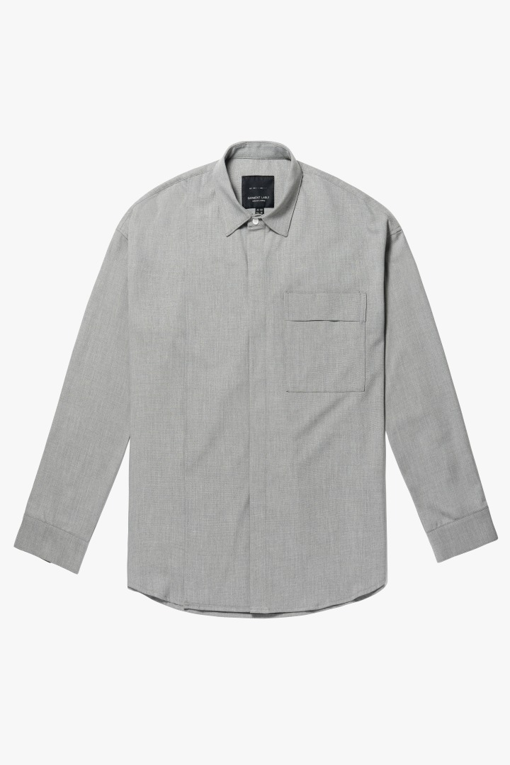 Addition Over Shirt - Grayish Beige