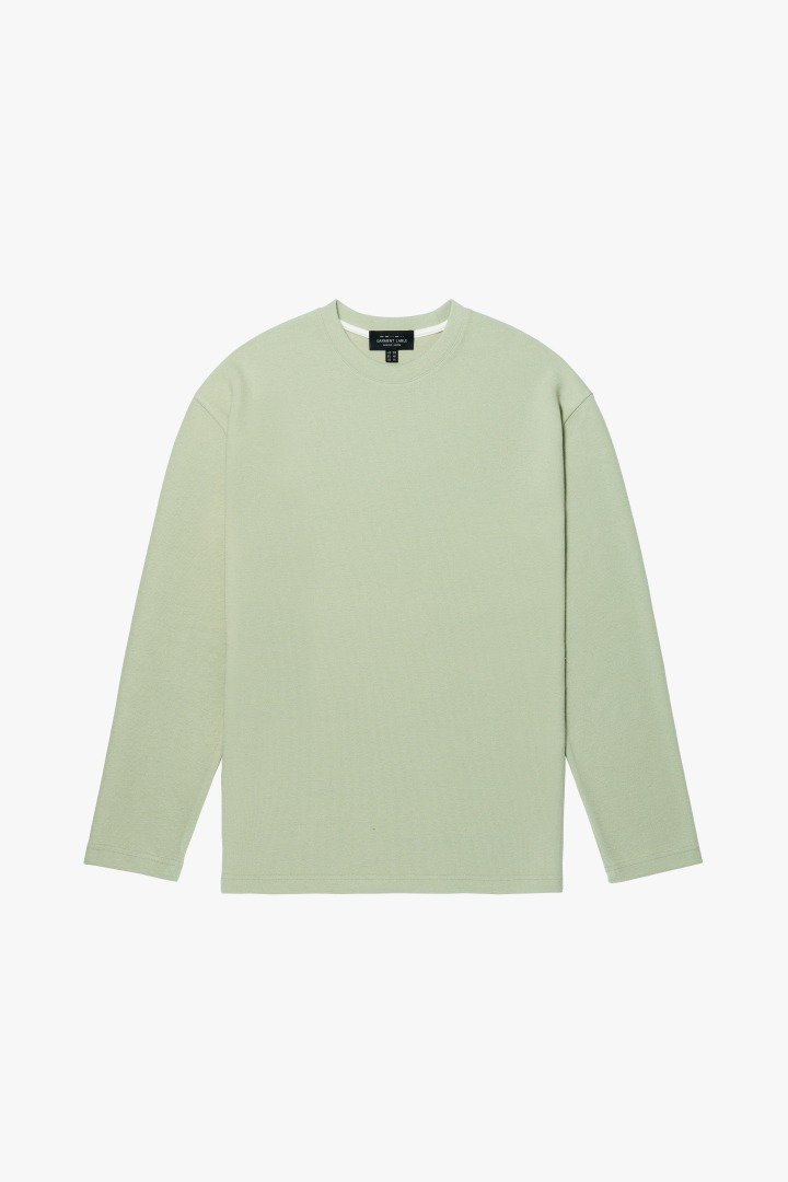 Knit Long Sleeve Tee - Mint
