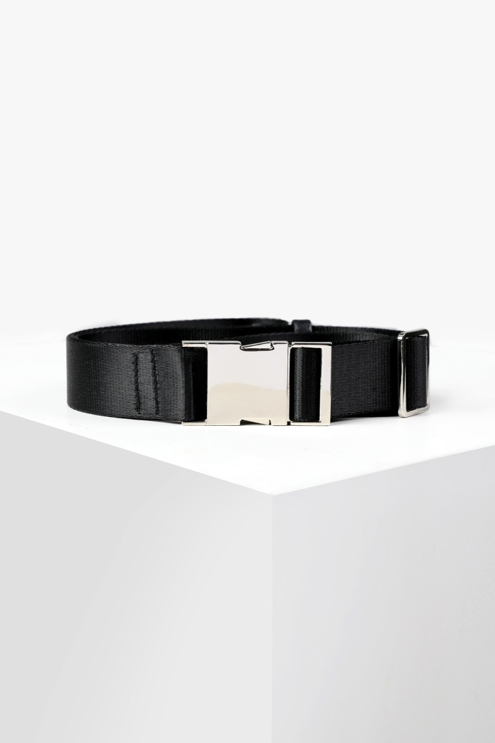 Multi Buckle Belt - Black