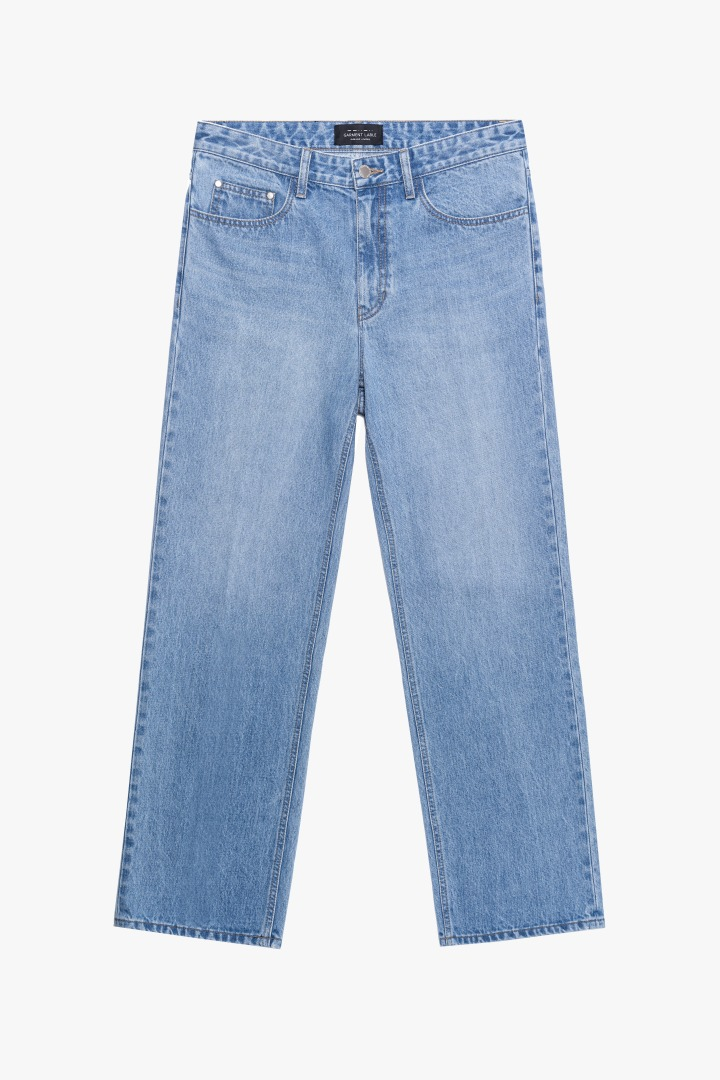 GL Wide Jeans - Mid Blue / Wide