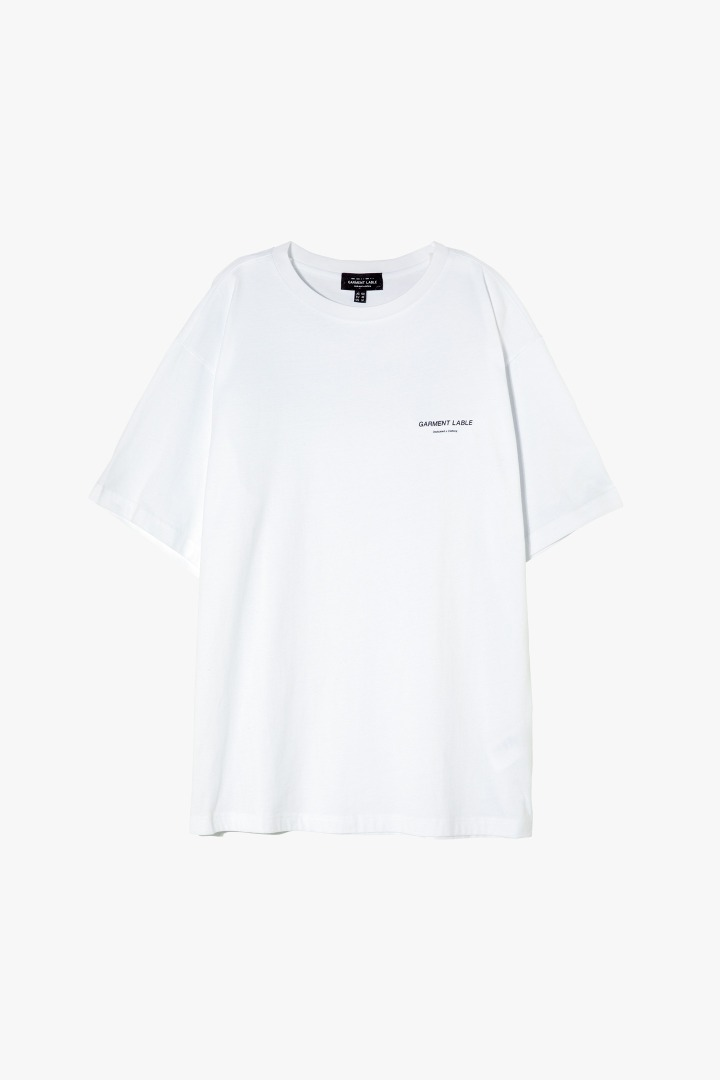 Relaxed Short Sleeve Tee - White
