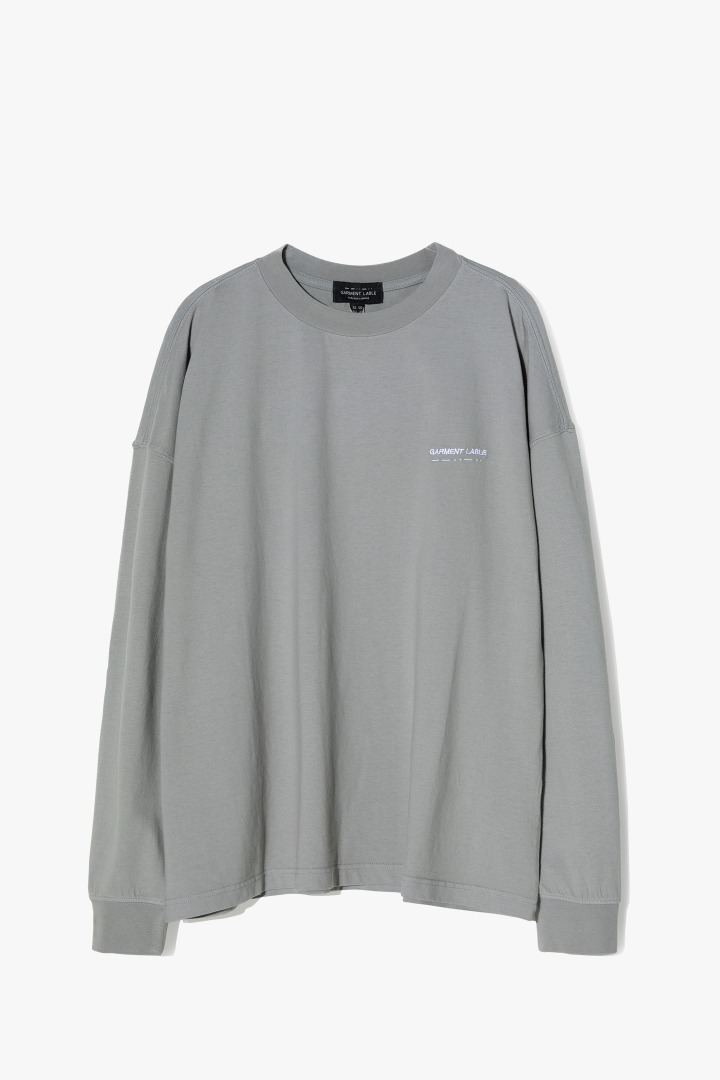Pigment Long Sleeve Tee - Grey