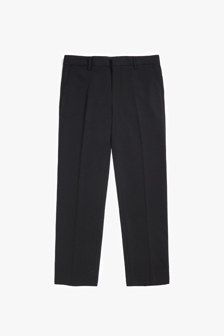 GL Semi Wide Slacks - Black