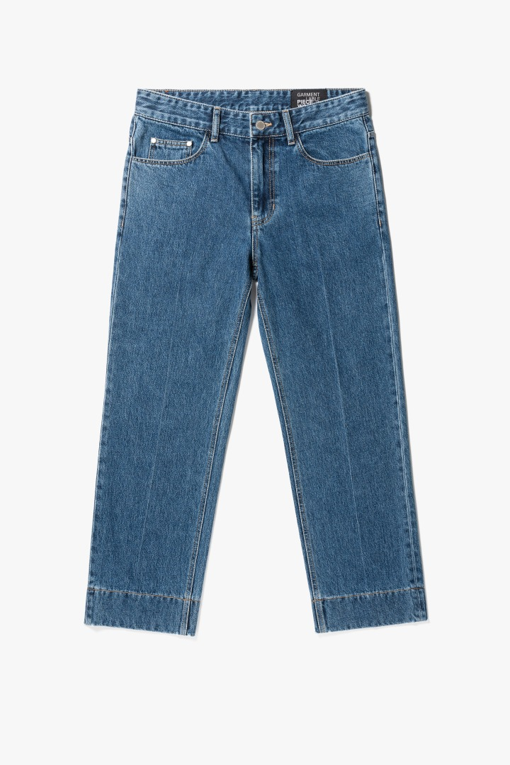 Garment Worker Stitch Jeans / Tapered (Retro Blue)