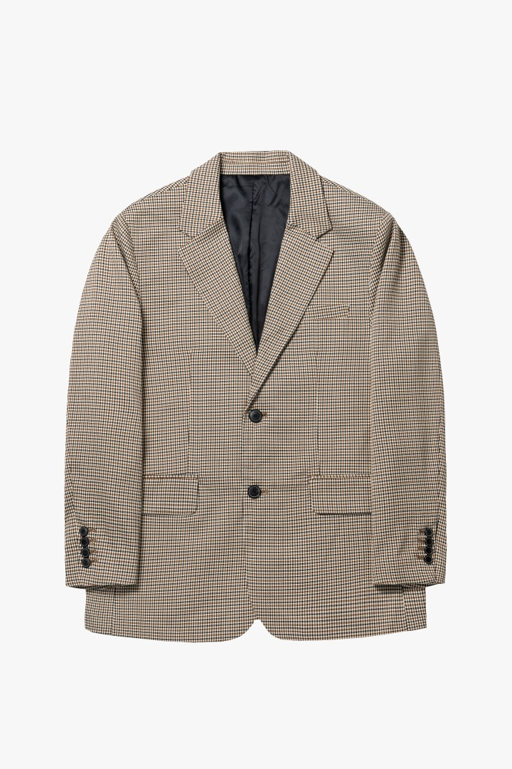 GL New Daddy Jacket - Check Beige