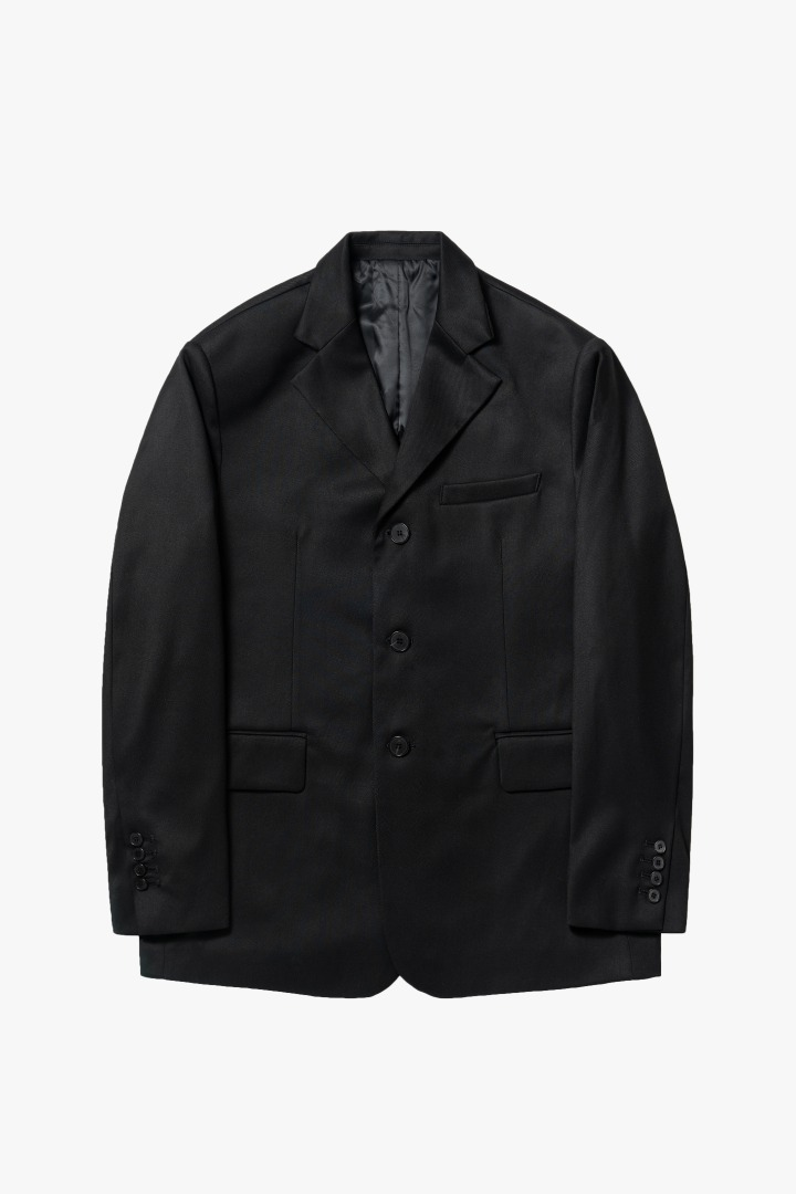 GL 3 Button Jacket - Black