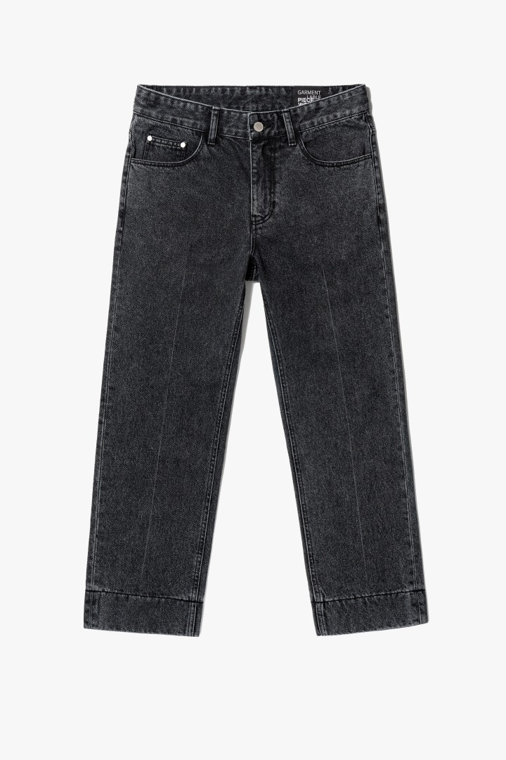 Garment Worker Stitch Jeans / Tapered (Black Tan)