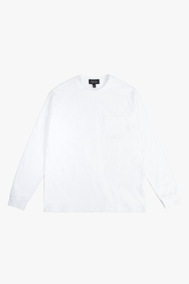 GL Long Sleeve Tee - White