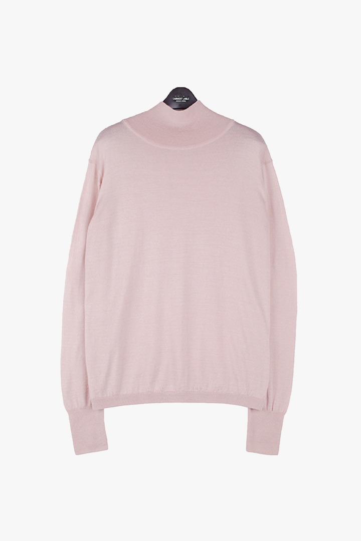 Basic Turtleneck Knit - Pink