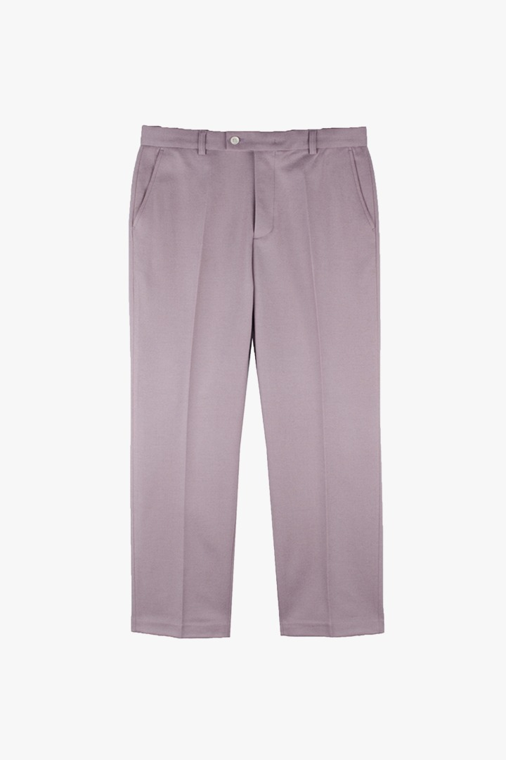 Essential Semi-wide Slacks - Dusty Pink