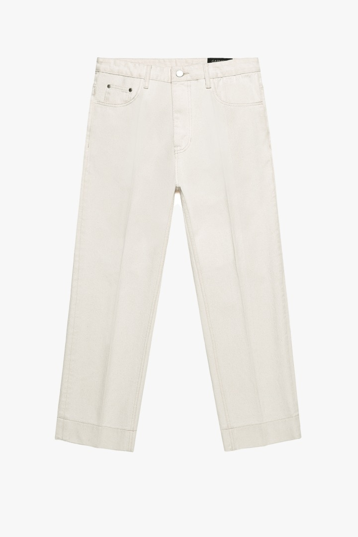 Garment Worker Stitch Jeans / Tapered (Natural)