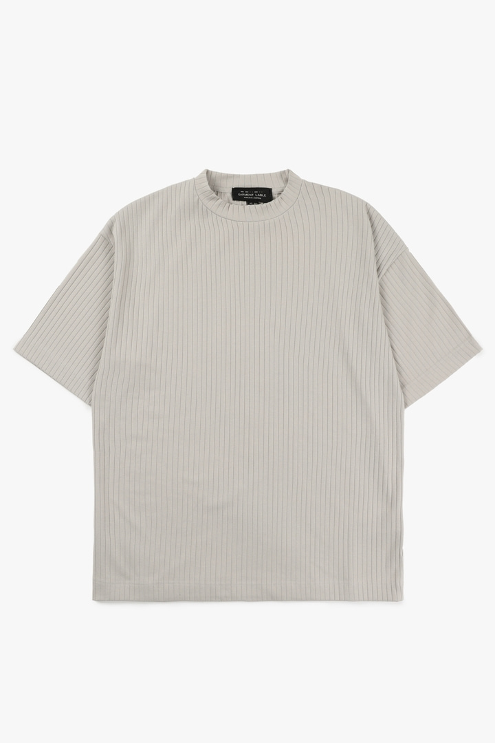 Pleats T-Shirt - Mocha
