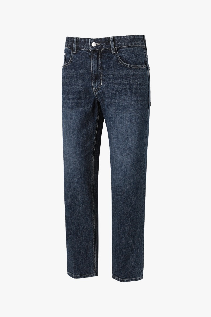 GL Tapered Crop Jeans - D/Indigo