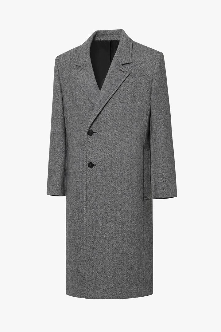 Herringbone Half Double Coat