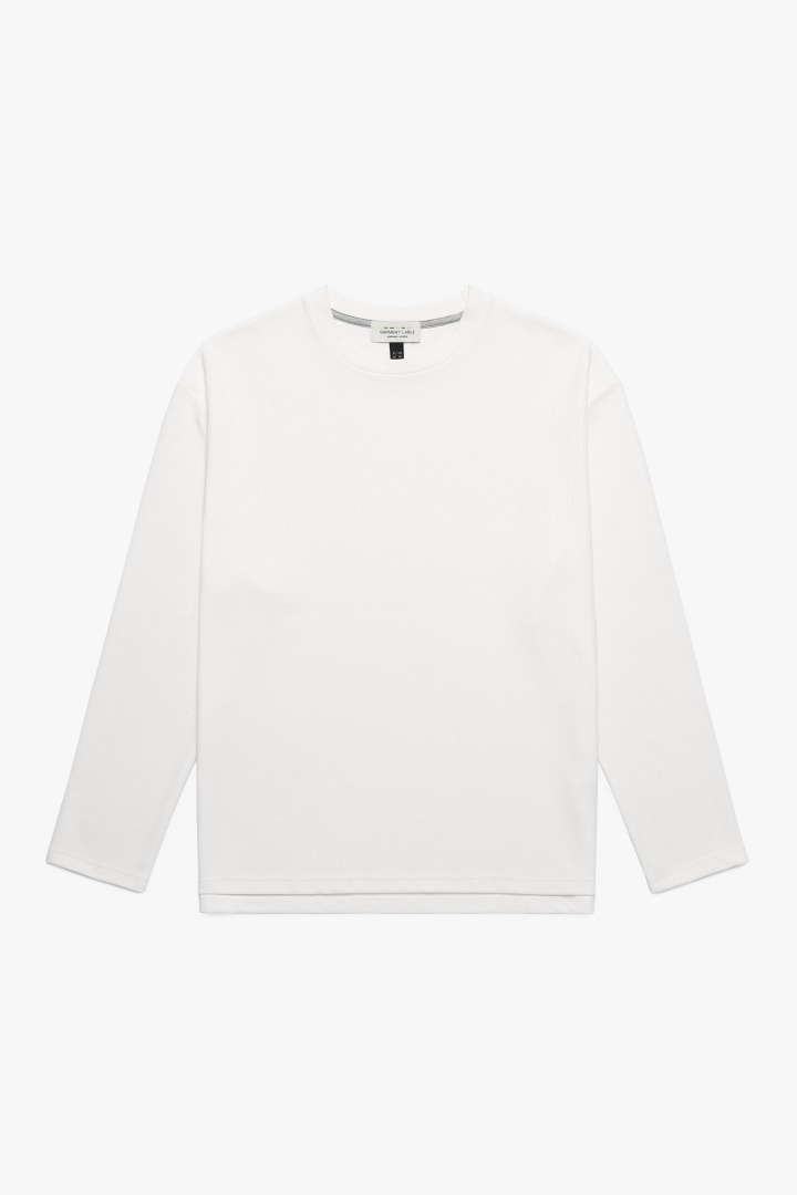 Knit Long Sleeve Tee - Ivory